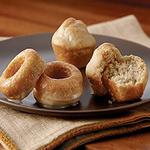 Mini Pumpkin Pie Spice Donuts with Maple Glaze