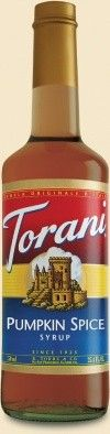Torani Pumpkin Spice Syrup and Pumpkin Spice Cappuccino Recipe