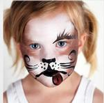 DIY Halloween Face Painting: Sugar Puppy