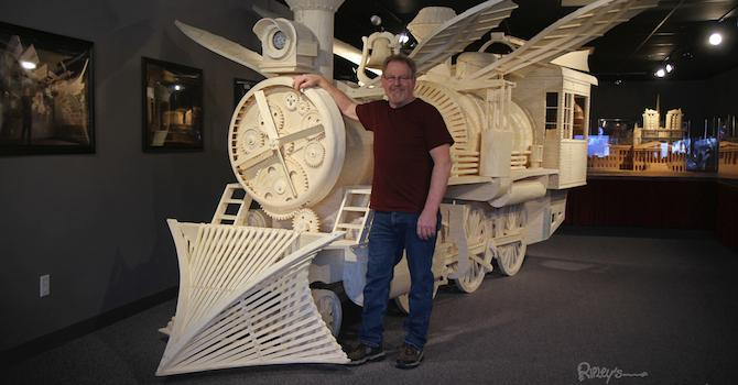 The World's Largest Matchstick Model Comes to Ripley's