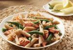 Recipe: Salmon Penne with Green Beans Vinaigrette