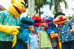 Sesame Street Fans Meet at Beaches Ocho Rios in Jamaica
