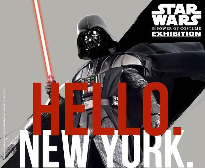 Star Wars Costumes Coming to Discovery Times Square