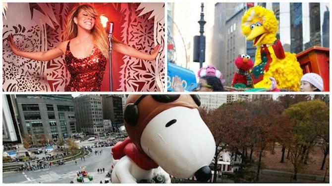 Macy's Thanksgiving Parade Turns 90: Holiday Inn, Muppets, Sesame Street, US Gold Medalists, Sarah McLachlan and More