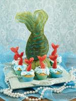 How to Make a Mermaid Tale from Watermelon