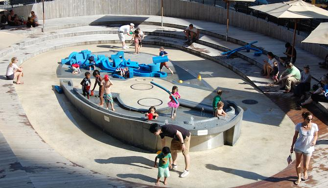 NYC's Best Water Playgrounds for Kids
