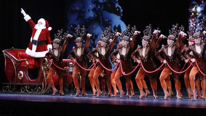It's Christmas in August at Radio City