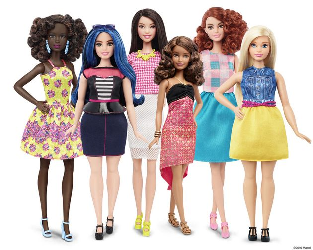 Barbie Gets a Makeover: Mattel Adds Three New Body Types