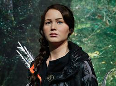 Hunger Games' Katniss Everdeen Arrives at Madame Tussauds New York