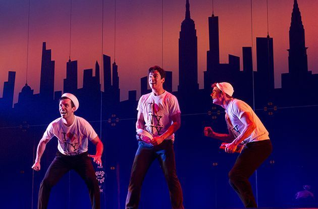 NYC Students Go Behind the Scenes of Broadway's 'On the Town'