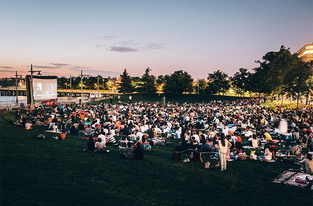 Free Outdoor Movie Screenings in the NYC Area