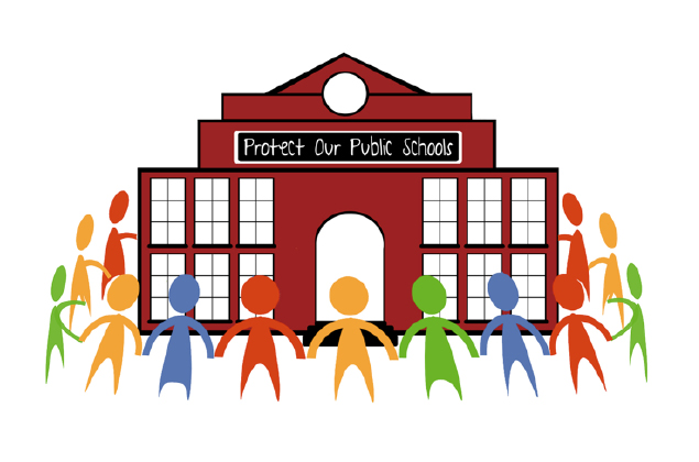 protect our schools illustration