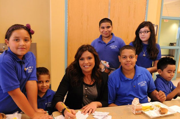 Rachael Ray Launches Petition for Free NYC School Lunches