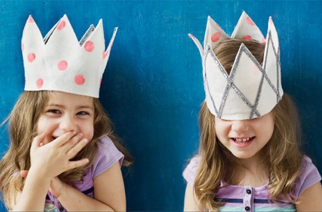 DIY Reversible Felt Crown