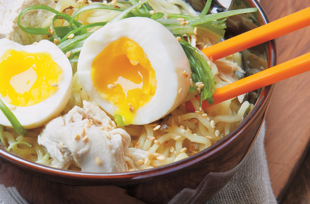 Roasted Chicken Ramen Soup Recipe