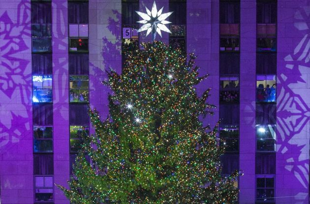 Tree Lighting Ceremonies in New York City