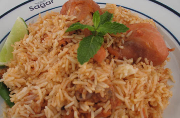 Sagar chicken biryani