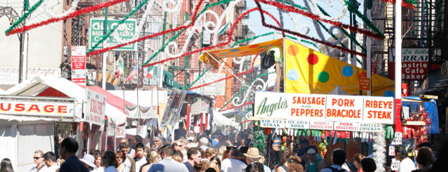 Little Italy's Annual Feast of San Gennaro Announces Final Weekend Events