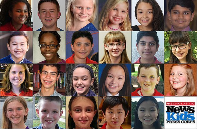 Scholastic News Kids Press Corps Adds 27 Young Reporters