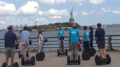 Bike and Roll NYC Launches First Public Segway Tour: Skyline by Segway (DISCONTINUED)