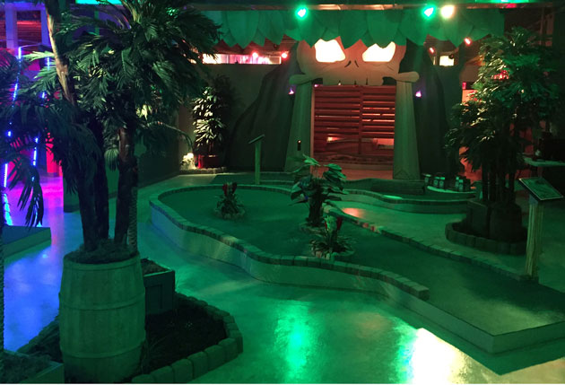 New Indoor Interactive Mini-Golf Opens in Red Hook