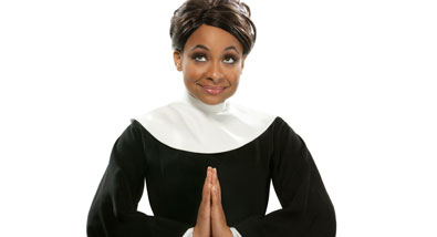 Getting into the Sister Act - Raven-Symoné Now Starring in the Broadway Hit