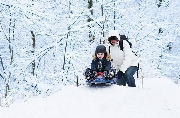 Sledding Safety: How to Choose the Best Sled and Avoid Injury