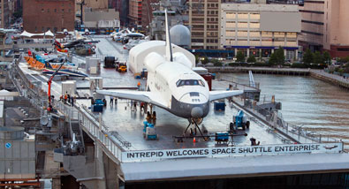Intrepid's Space Shuttle Enterprise Added to the National Register of Historic Places