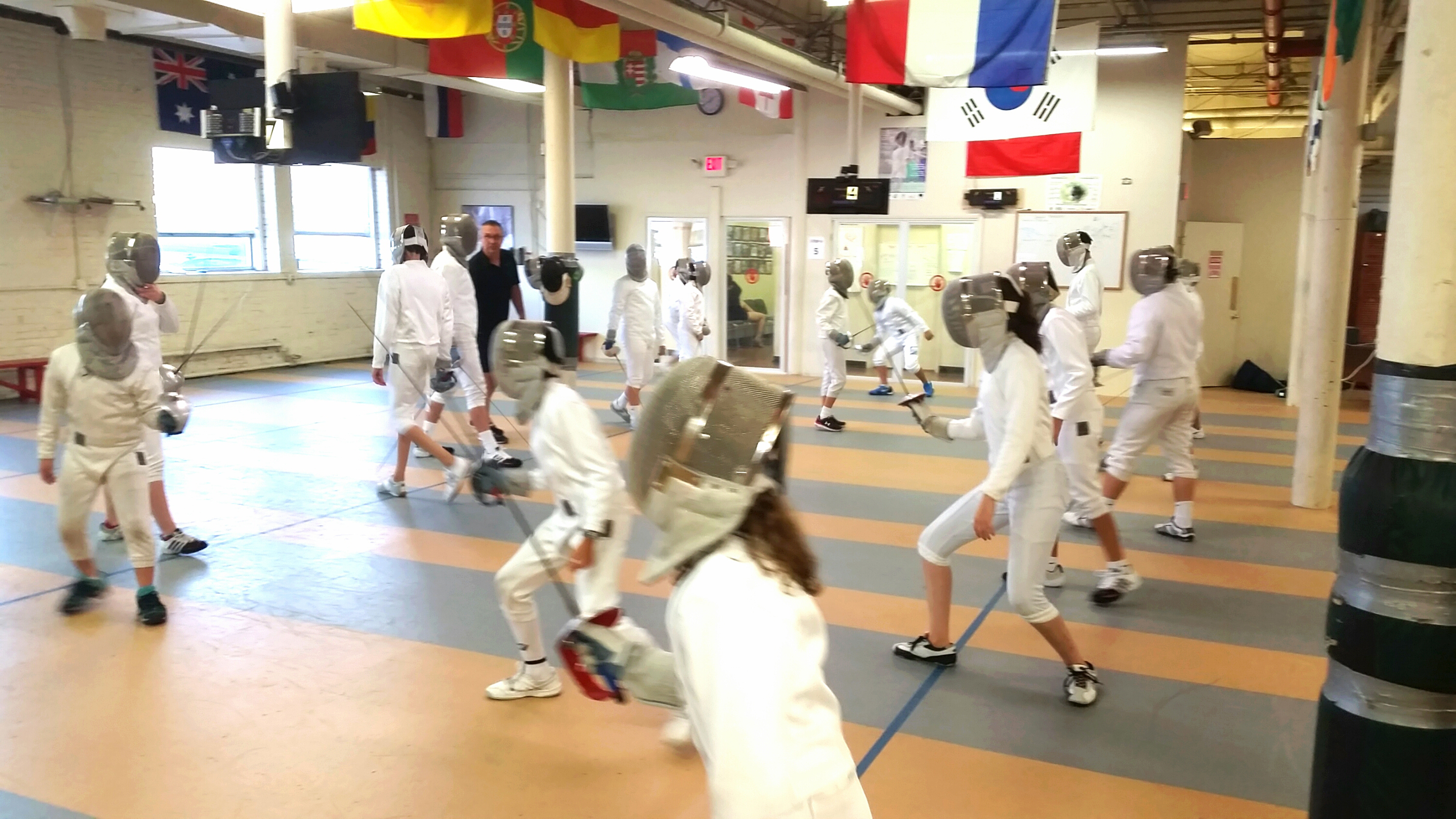 Stamford Fencing Center Now Offering Competition Training