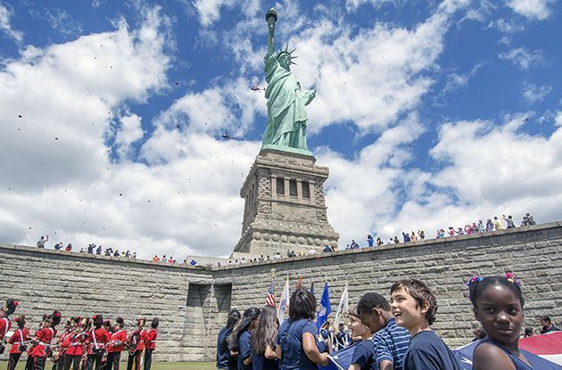 Visiting the Statue of Liberty and Ellis Island with Kids