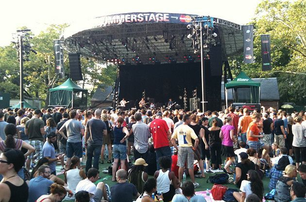 Take the Kids to SummerStage in NYC