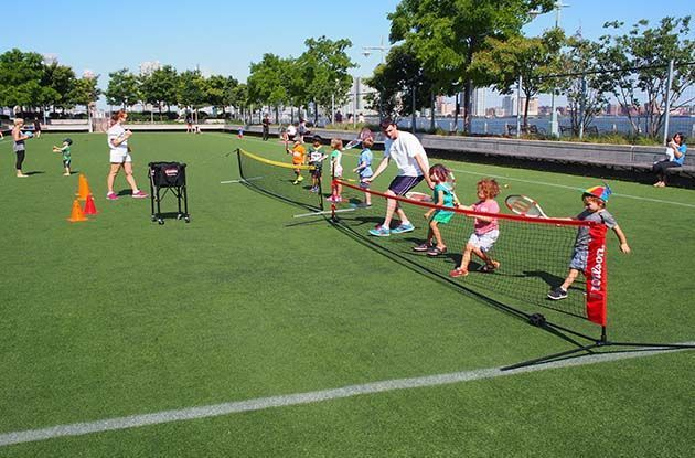 Super Duper Tennis Offers Lessons for Tots in Park Slope