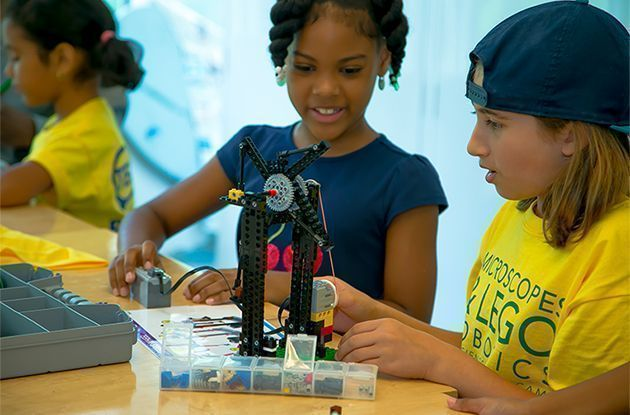 STEM Camp Adds Drones and Robots