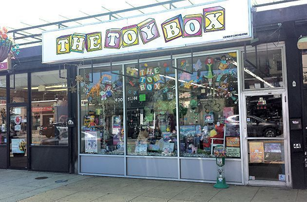 The Joys of the Mom-and-Pop Toy Store
