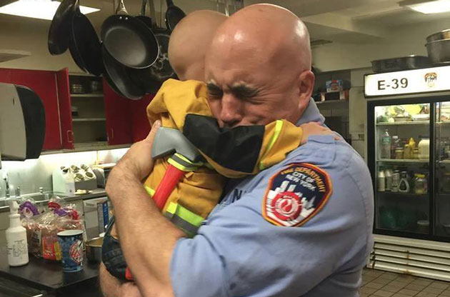 Little Boy to Become Honorary FDNY Member