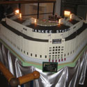 'The House That Wolf Built': 49-sq.-ft. Replica of Old Yankee Stadium on Display at Mickey Mantle's