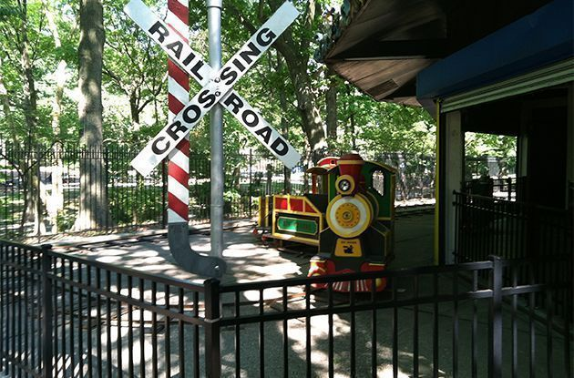 Forest Park Carousel Debuts Train Ride