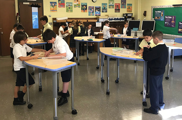 New Imaginarium STEM Space Introduced at St. Dominic's Elementary and Middle Schools