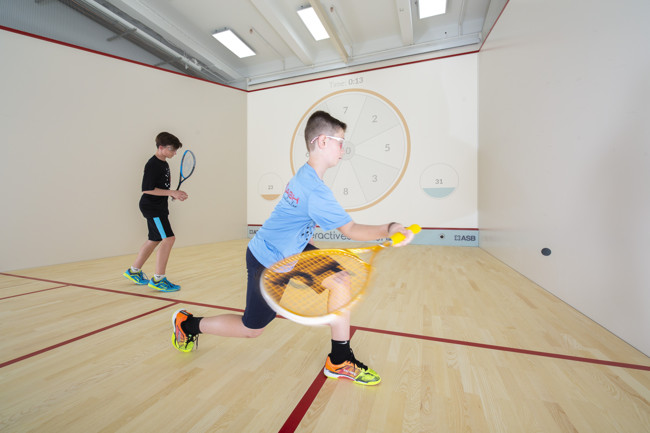 MSquash Port Chester Welcomes Interactive Squash Courts