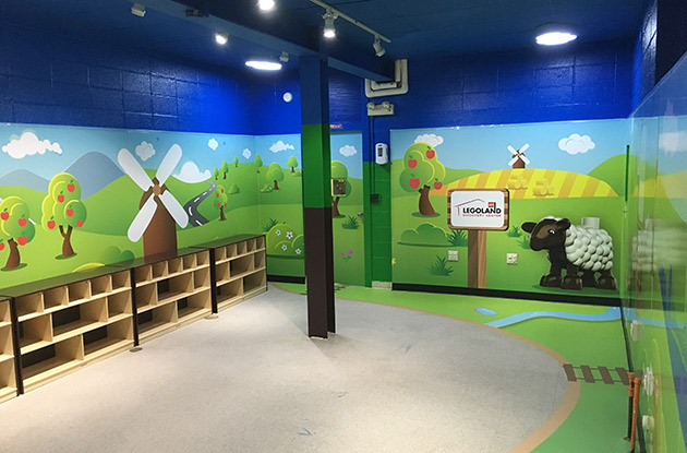 Legoland Discovery Center Westchester Partnering with a Special Needs Pre-School to Launch Merlin's Magic Spaces Installation