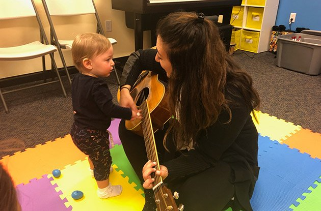 Baby & Me Classes Now Offered at Daniel's Music Foundation
