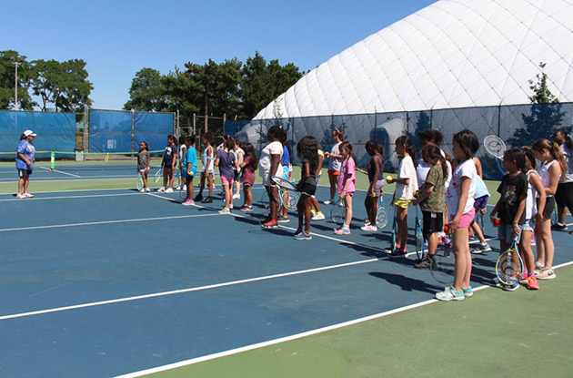 The US Tennis Association Recognizes Hofstra Summer Camps Tennis Coach as Woman of the Year 2018