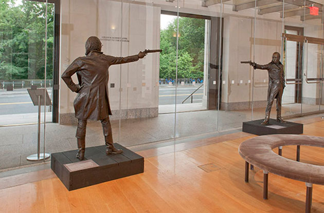 New-York Historical Society to Recreate the Hamilton-Burr Duel