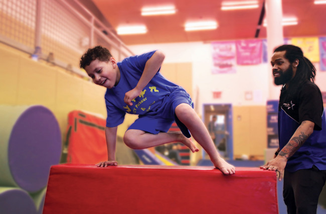 92Y Gears Up for First-Ever Parkour and Sports Adventure Camp
