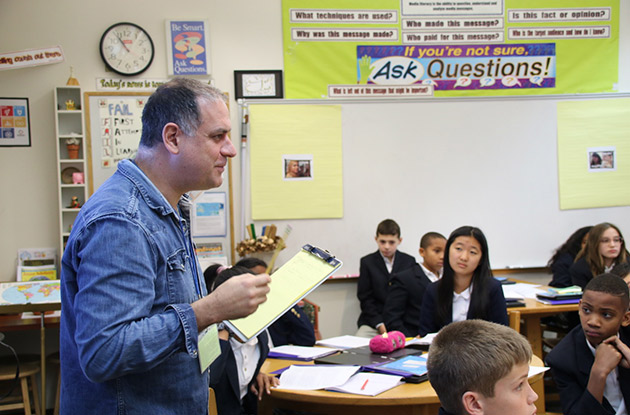 Director of and Actors from 'I Learn America' Visit Buckley Country Day School