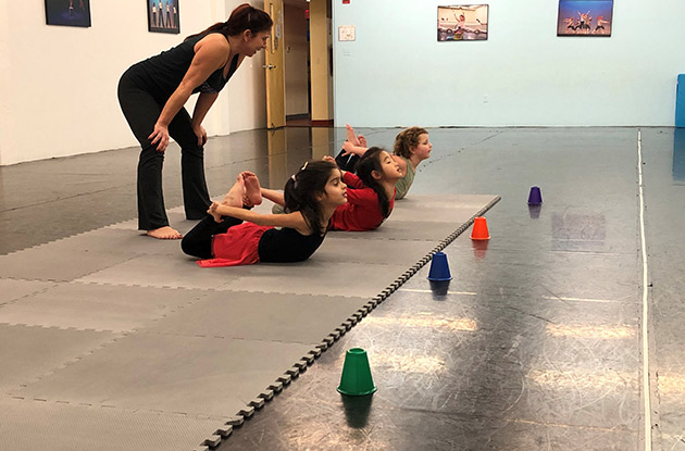New Beginning Tumbling Classes to Begin in February at Steffi Nossen School of Dance