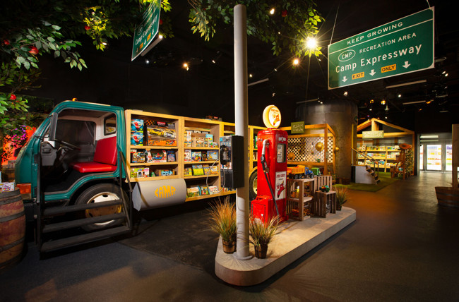 CAMP Store in Union Square Unveils New Theme