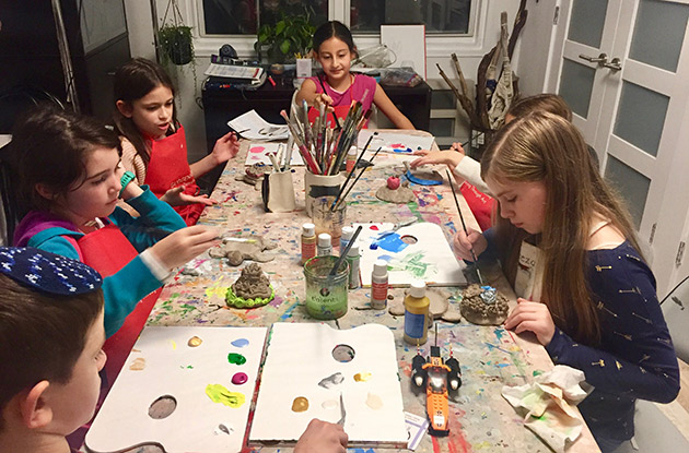 Anya's Art Room Kicks Off New Semester in January