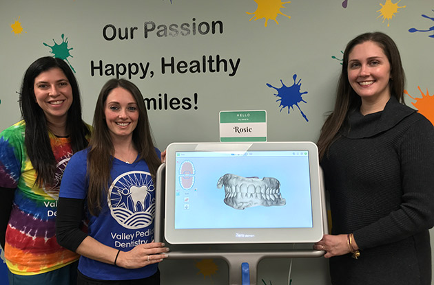 New iTero Scanner Reduces Discomfort for Patients at Valley Pediatric Dentistry