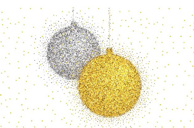 Glittery Crafts for the Holiday Season